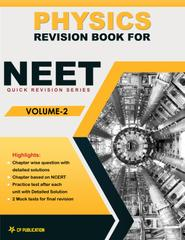 Physics Revision Book for NEET (Vol-2) Class 12th