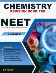 Chemistry Revision Book for NEET (Vol-2) Class 12th