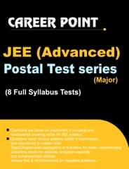 JEE Advanced 2017 Major Postal Test Series for  by Career Point Kota