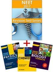 NEET - Revision Online Test Series 2017 + PCB Formulae Handbook (Set of 3 Books) By Carrer Point
