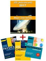 JEE Advanced - Major Online Test Series -2017 + PCM Formulae Handbook (Set of 3 Books) By Carrer Point