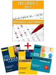 JEE-Advanced Revision Online Test Series 2017 + PCM Formulae Handbook (Set of 3 Books) By Carrer Point