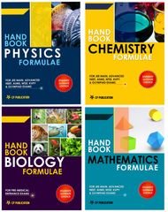 PCMB Formula Book for JEE Main/ Advanced/NEET (4 Set of Books) (English)