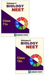Biology for NEET (Vol-1 &Vol-2) By Career Point (Class 11th & 12th)