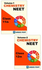 Chemistry for NEET (Vol-1 &Vol-2) By Career Point (Class 11th & 12th)