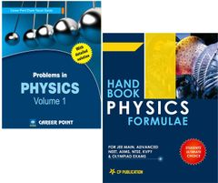 Problems in Physics Volume-1 + Physics Formulae for JEE (Main & Advanced) by Career Point Kota