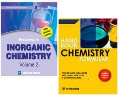 Problems in Inorganic Chemistry + Chemistry Formulae for JEE (Main & Advanced) by Career Point Kota