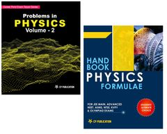 Problems in Physics Volume 2 + Physics Formulae for JEE (Main & Advanced) by Career Point kota