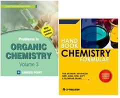 Problems in Organic Chemistry + Chemistry Formulae for JEE (Main & Advanced) by Career Point Kota