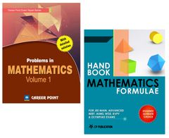 Problems in Maths Volume-1 + Maths Formulae for JEE (Main & Advanced) by Career Point Kota