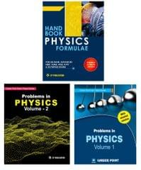 Problem in Physics (Set of 2 Books) + Physics Formulae For IIT-JEE (Main & Advanced) By Career Point Kota