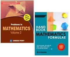 Problems in Maths Volume-2 + Maths Formulae for JEE (Main & Advanced) by Career Point Kota