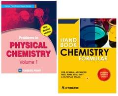 Problems in Physical Chemistry + Chemistry Formulae for JEE (Main & Advanced) by Career Point Kota