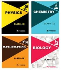Class-9th Foundation Study Package PCMB (Science + Maths) For IIT-JEE,NEET & Olympiad By Career Point Kota