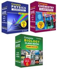 Class Notes Of Complete PCB (Set of 18 Volumes) For NEET/AIIMS/Olympiad