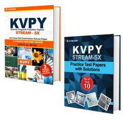 KVPY (Stream-SX) 7 Years Unit wise Old Examination Solved Paper (2010 to 2016) with 3 Practice Papers + KVPY (Stream-SX) Practice Test Papers For Class-12
