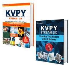 KVPY (Stream-SX) 8 Years Unit wise Old Examination Solved Paper (2010 to 2017) with 3 Practice Papers + KVPY (Stream-SX) Practice Test Papers For Class-12  By Career Point Kota