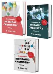 Problem in Chemistry (Set of 3 Books) For IIT-JEE (Main & Advanced)