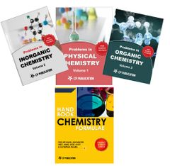 Problem in Chemistry (Set of 3 Books) + Chemistry Formulae For IIT-JEE (Main & Advanced)