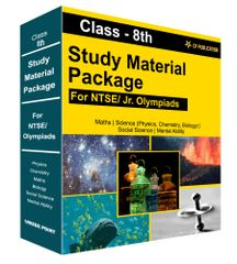 Class 8th Study Material Package For NTSE/ Jr. Olympiads By Career Point Kota