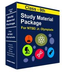 Class 9th Study Material Package For NTSE/ Olympiad By Career Point Kota