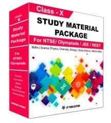 Class 10th Study Material Package For NTSE/ Olympiad By Career Point Kota