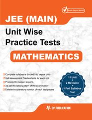 JEE Main Maths - Unit wise Practice Test Papers By Career Point Kota