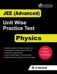 JEE Advanced Physics - Unitwise Practice Test Papers By Career Point Kota