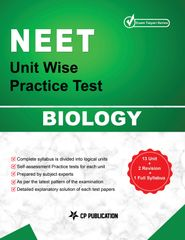 NEET Biology - Unit wise Practice Test Papers By Career Point Kota