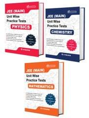 JEE Main PCM (Physics, Chemistry, Mathematics) - Unit wise Practice Test Papers By Career Point Kota