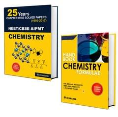 25 Years CBSE NEET & AIPMT Chemistry Chapterwise Solved Papers 1992-2017 With Chemistry Formulae Handbook