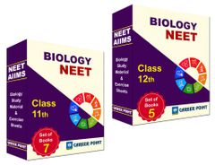 AIIMS & NEET/AIPMT Biology Study Material & Exercise Sheets (12 Vol.) for class XI & XII