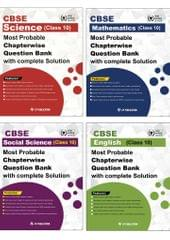CBSE Class 10th Science, Maths , Social Science & English - Most Probable Questions Bank with Complete Solution