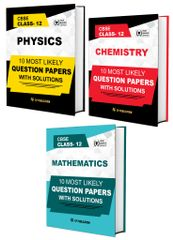 CBSE Class 12th PCM (Physics, Chemistry, Maths) - 10 Most Likely Question Papers with Solutions By Career Point, Kota