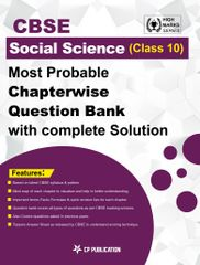 CBSE Social science Class 10th - Most Probable Questions Bank with Complete Solution