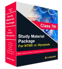 Class 7th Study Material Package For NTSE/ Jr. Olympiads