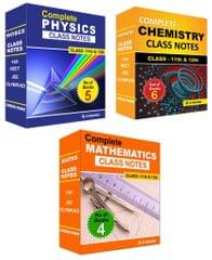 Class Notes of Complete PCM (Set of 15 Volumes) For JEE/Olympiad