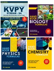 KVPY (Stream-SA) + Handbook of PCB Formulae (Set of 3 Books)
