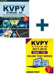 KVPY (Stream-SA) 10 Years Unit wise Old Examination Solved Paper (2007 to 2016) with 3 Practice Papers + Online Test series By Career Point