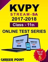 KVPY (Stream-SA) Online Test Series (2017-2018) For Class 11th