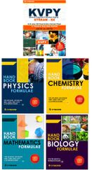 KVPY (Stream-SX) - Unit wise Old Examination Solved Paper (2010 to 2016) with 3 practice Papers + PCMB Formuale (Set of 4 Books)