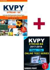 KVPY (Stream-SX) 7 Years Unit wise Old Examination Solved Paper (2010 to 2016) with 3 Practice Papers  + Online Test series By Career Point