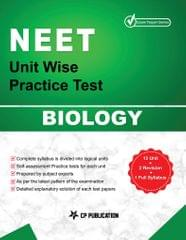 NEET Biology - Unit wise Practice Test Papers