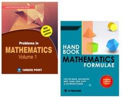 Problems in Maths Volume-1 + Maths Formulae for JEE (Main & Advanced)