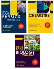 Handbook of PCB Formulae Set of 3 Books For NEET AIPMT