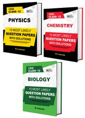 CBSE Class 12th PCB (Physics, Chemistry, Biology) - 10 Most Likely Question Papers with Solutions By Career Point, Kota