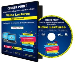 NEET/JEE Video Lectures on DVD : Hydrogen & Its compund, S-Block Elements : by Career Point, Kota Faculty