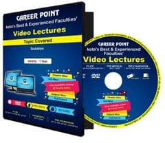NEET/JEE Video Lectures on DVD : Solution : by Career Point, Kota Faculty