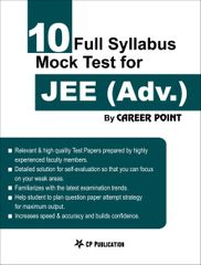 10 Full Syllabus Mock Tests for JEE (Advanced)