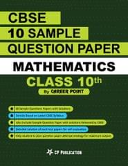 10th CBSE Mathematics: 10 Sample Questions Papers with solutions